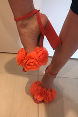 SAMPLE Orangina Rose Block Heels