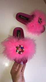 Barbie Pink Crystal Gem Sliders