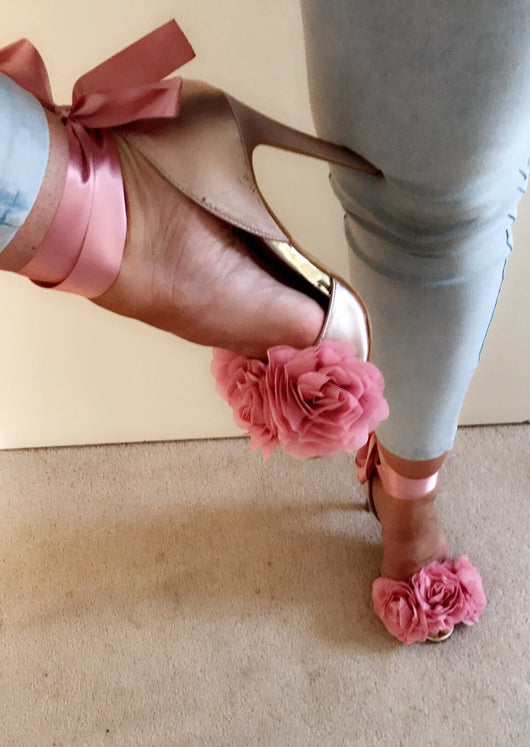 Kate Blush Rose Heels