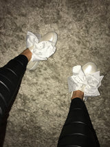 Maisie Crystal Bow Sneakers