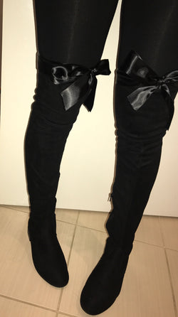 Minxy Flat Thigh High Boots