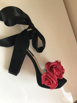 Lovelorn Block Ribbon Heels