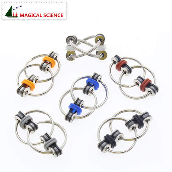 Hand Spinner Key Ring Rotation Toy