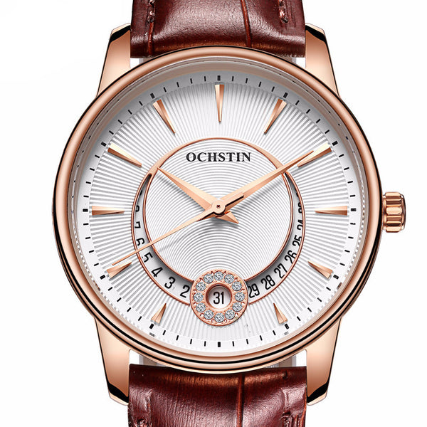 Rose Gold Ladies Fashion Quartz Watch