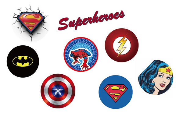 Pop Grips - Superheroes