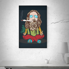 Smoking high design   Rolled Wall Posters (Frames not included)