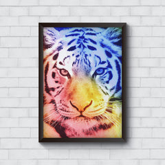 Colourful Tiger Design   Wall Frames