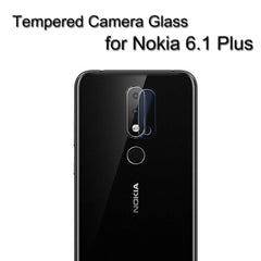 Motivate box , Camera Lens Protector for Nokia 6.1 Plus [Pack of 2]