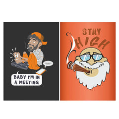 Set of 2 posters with designs like The liar design Matte Laminated 12 inches*18 inches posters