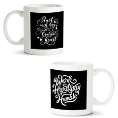 Set of 2 printed white coffee mugs with designs like: Set-of-2-printed-white-coffee-mugs-with-designs-like:-Everyday-motivation-design-|-11-ounce-mugs | 11 ounce mugs