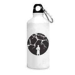 Lighting & kid design printed white 750 ml sipper bottle