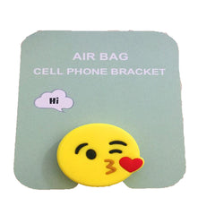 Motivatebox , Kiss smiley emoticon cute pop stands for phones and tablets(Expandable grip holder)
