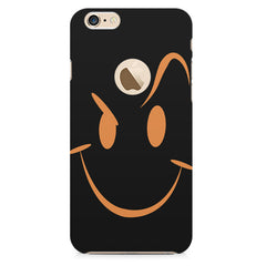 Smile like The Rock design    Apple Iphone 6 with round cut hard plastic printed back cover