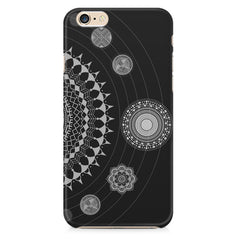 Ethnic design pattern Apple Iphone 6/6s printed back cover