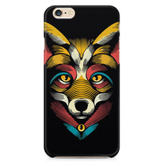 Fox sketch design Apple Iphone 6/6s printed back cover