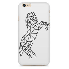 Geometrical horse design Apple Iphone 6/6s printed back cover
