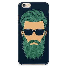 Beard guy with goggle sketch design Apple Iphone 6/6s printed back cover