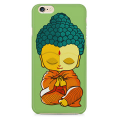 Buddha caricature design Apple Iphone 6/6s printed back cover