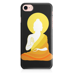 Buddha sketch design Apple Iphone 7 printed back cover