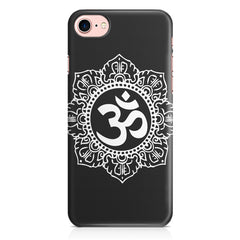 Om rangoli design Apple Iphone 7 printed back cover