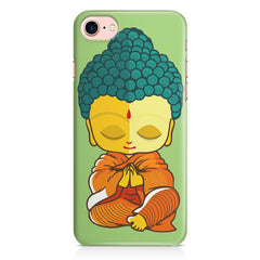Buddha caricature design Apple Iphone 7 printed back cover