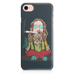 Smoking high design Apple Iphone 7 printed back cover