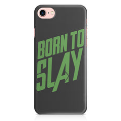 Born to Slay Design Iphone 8 hard plastic printed back cover.