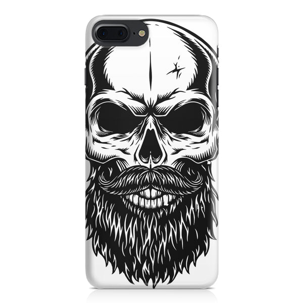 Skull with the beard  design,  Apple Iphone 7 Plus  printed back cover