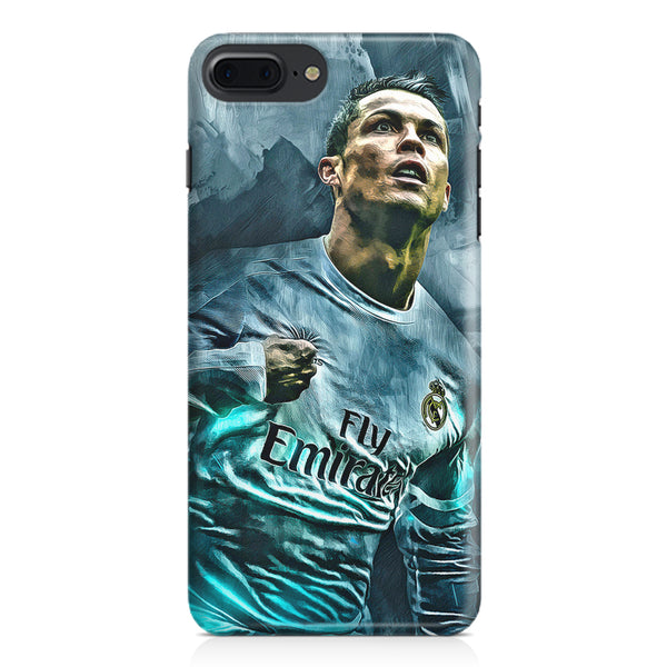 Oil painted ronaldo  design,  Apple Iphone 7 Plus  printed back cover