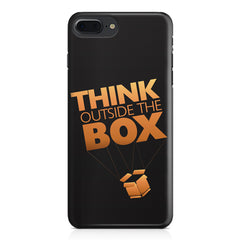 Think Outside The Box- Entrepreneur Lines design,  Apple Iphone 7 Plus  printed back cover