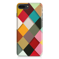 Graphic Design diamonds   Apple Iphone 7 Plus  printed back cover