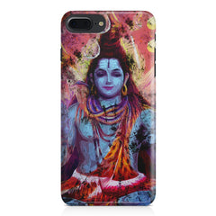 Shiva painted design Apple Iphone 7 Plus  printed back cover