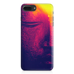 Half red face sculpture  Apple Iphone 7 Plus  printed back cover