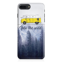Into the wild for travel Wanderlust people Apple Iphone 7 Plus  printed back cover