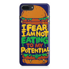 Hungry funny design Apple Iphone 7 Plus  printed back cover