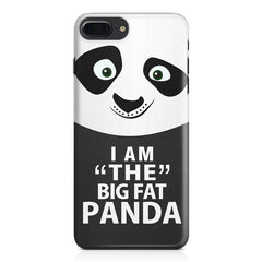 I am the big fat Panda  design,  Apple Iphone 7 Plus  printed back cover