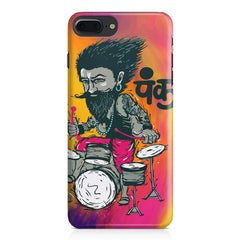 Punk baba drumroll  design,  Apple Iphone 7 Plus  printed back cover