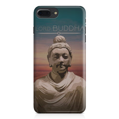 Lord Buddha peace  design,  Apple Iphone 7 Plus  printed back cover