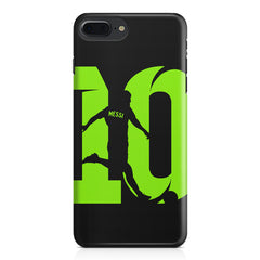 Lionel Messi 10 Playing  design,  Apple Iphone 7 Plus  printed back cover