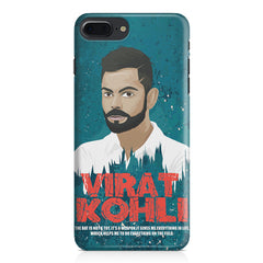 Virat Kohli Indian Cricket Team Captain Quote design,  Apple Iphone 7 Plus  printed back cover