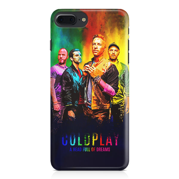 Coldplay Colorful Album Art A Head Full of Dreams design,  Apple Iphone 7 Plus  printed back cover