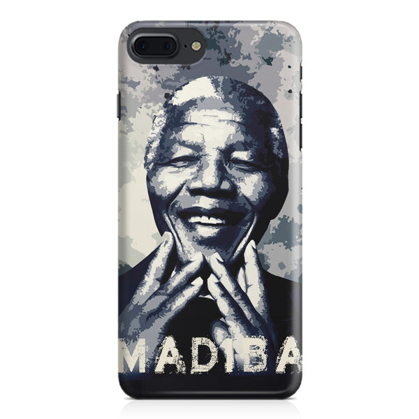 Nelson Mandela Madiba Abstract Art design,  Apple Iphone 7 Plus  printed back cover