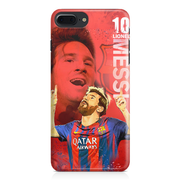 Lionel Messi Fan Art FCB 10 design,  Apple Iphone 7 Plus  printed back cover