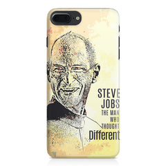 Steve Jobs Apple Art design,  Apple Iphone 7 Plus  printed back cover