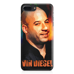 Vin Diesel Oil Painting Fanart design,  Apple Iphone 7 Plus  printed back cover