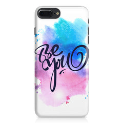 Be yourself design Apple Iphone 7 Plus  printed back cover