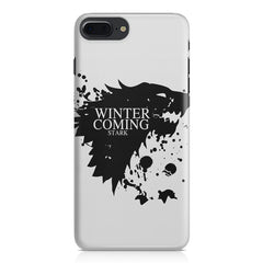 GOT Winter is coming design Apple Iphone 7 Plus  printed back cover