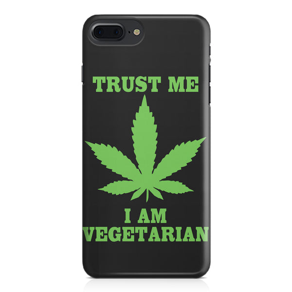 Vegan weeed design Apple Iphone 7 Plus  printed back cover