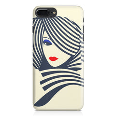 Fashionable girly design Apple Iphone 7 Plus  printed back cover