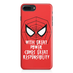 Spider man design Apple Iphone 7 Plus  printed back cover